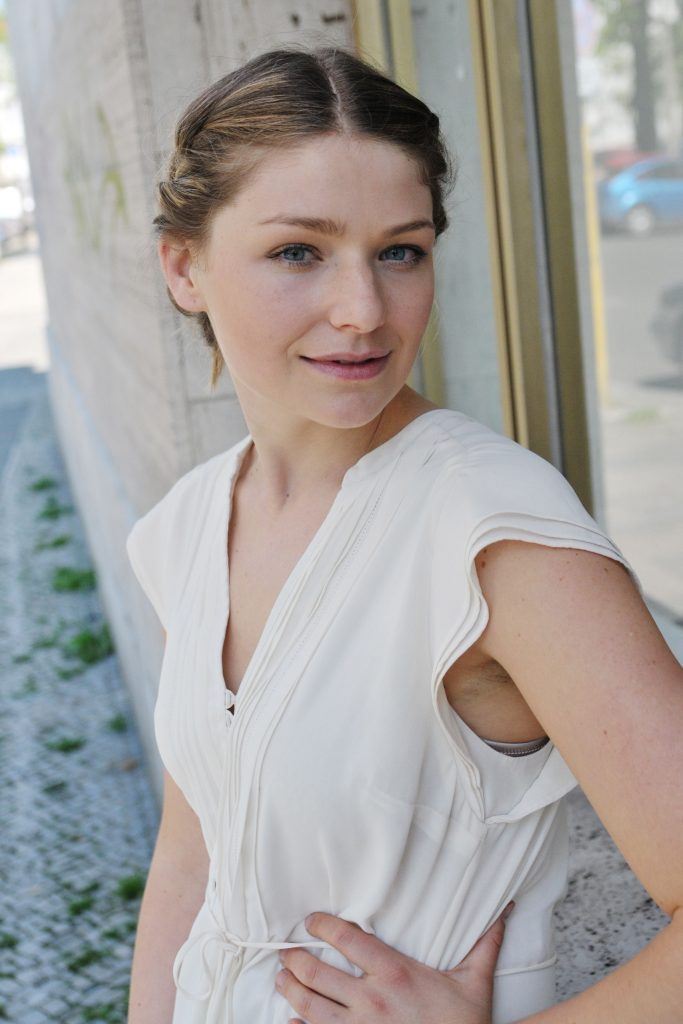 Sarah Zaharanski is a German speaking actress from Salzburg in Austria. She studied at the University of Music and Performing Arts in Graz. She is represented by agent Tanja Siefert and is based in Vienna, Salzburg and Cologne, Germany.